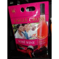 Wholesale Reusable Laminated Stand Up Pouch With Spout For Red Wine , Grape Wine from china suppliers