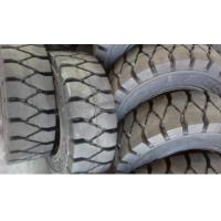Wholesale Rubber solid forklift tires For material handling forklift from china suppliers