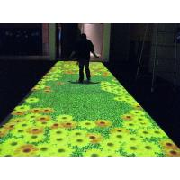 Wholesale Mini PC Media Wall Interactive Floor Display / Interactive Dance Floor System from china suppliers
