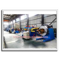 Wholesale Mild Steel Shelving Roll-Form Profile Post Making Machine with De-coiler, Roll Former, Auto Puncher and Cut-off Device from china suppliers
