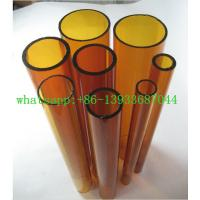 Wholesale clear and colored borosilicate glass tube from china suppliers