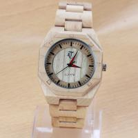 Wholesale Customized tense Wooden Wrist Watch with Slingshot buckle , CE RoHS standard from china suppliers
