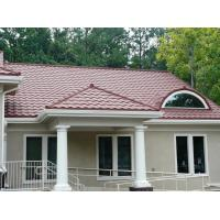 colorful Stone Chip Coated metal roofing tile For House Exterior Roofing, Zinc Colorful Stone Coated Metal Roofing Tile