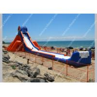 Wholesale Adult Beach Commercial Giant Water Slide 30m x 10m customized from china suppliers