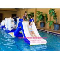 Quality Air Hot Welded Water Park Inflatables High Performance 40x40m for sale