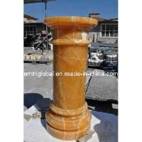 Wholesale Yellow Onyx Marble Stone Column/ Pillar/ Roman Pillar from china suppliers