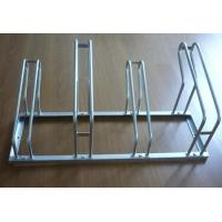 Wholesale OEM PVC Coated Outdoor Steel Bike Stand,1050mm * 530mm * 440mm For 4 Bicycles from china suppliers