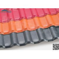 Wholesale Synthetic Resins + Plastic + PVC Material Composite Roof Tiles from china suppliers