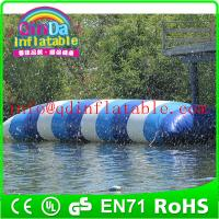 Wholesale inflatable water game jump water blob for water park theme inflatable jumping pillow from china suppliers