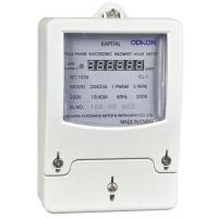 Buy cheap Single Phase Static Watt Hour Meter from wholesalers
