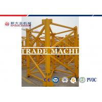 Wholesale ISO / CE Approved 8T Self Erecting Tower Crane QTZ Series Hydraulic Tower Crane For Construction from china suppliers