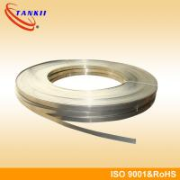 Nickel - Chrome Flat Wire High Resistance Wire Maintain Good Chemical Stability