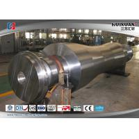 Wholesale Super Steel Steam Turbine Rotor Forging , Mechanical Wind Turbine Main Shaft from china suppliers