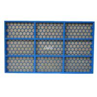 Buy cheap API FSI 5000 Shale Shaker Screen Steel Frame SS304 / 316 Material from wholesalers
