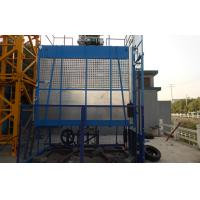 Wholesale Rack and Pinion Building Material Hoisting Equipment / Construction Lift 1T - 3.2 T from china suppliers
