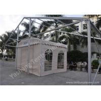 Wholesale UV Resistant Acr Roof PVC Fabric Tent Structure Hard Pressed Aluminum Frame from china suppliers