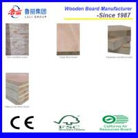 Quality luligroup poplar core melamined block board for sale