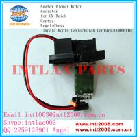 Wholesale auto ac Heater Resistor Rheostat for GM Buick Centry Regal/Chevy Impala Monte Carlo/Buick Century/CORVETTE15-80571 from china suppliers