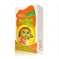 Wholesale Orange Whitening Mud Mask Double Effect Anti - Fatigue Yellowness Removal from china suppliers