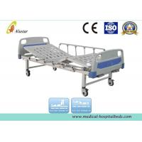 Quality Aluminum Alloy Guardrail Double Crank Medical Hospital Beds (ALS-M202) for sale