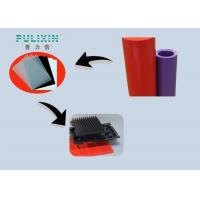 Wholesale Red Purple 0.3mm Transparent Plastic Sheet Roll , Low Density Polyethylene Sheet from china suppliers