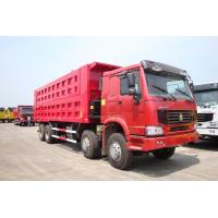 Quality Euro II Emission Standard Heavy Duty Trucks , Medium Duty Dump Truck for sale