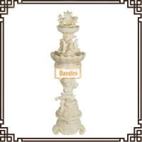 Wholesale Outdoor artifcial stone water fountain for home and garden decoration W144S+842S from china suppliers