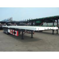 Wholesale 40 Feet-3 Axles-Flat Bed Semi-Trailer from china suppliers