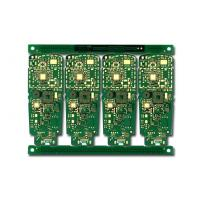Wholesale Multilayer printed circuit board , high frequency pcb Green Cover Film from china suppliers
