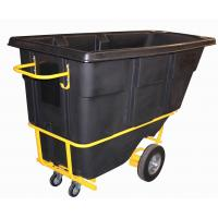 Wholesale 400Litre Black Rotational Molded Heavy Duty Tilt Trucks from china suppliers
