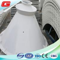 Wholesale Dampness Resistant Mobile Steel Cement Silo  42cbm With Manual Butterfly Valve from china suppliers