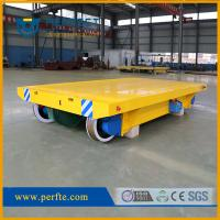 Wholesale 50 tons rail cable reel trolley trailer as transporter used in factory from china suppliers