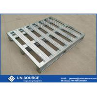 Wholesale Heavy Duty Galvanized Steel Pallets ,  Metal Steel Plate Stackable Metal Pallets from china suppliers