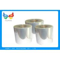 Buy cheap One Side Coated BOPP Self Adhesive Clear Plastic Film 18 ~ 50 Mic Thickness from wholesalers