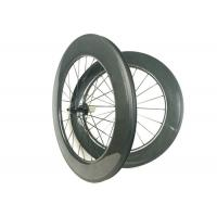 700C 88mm Carbon Wheels , Carbon Disc Road Wheels Hand - Built WIth R13 Hub
