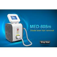 Wholesale Professional Painless 808 Nm Diode Laser Hair Removal Machine CE / ISO13485 from china suppliers