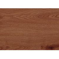 Quality Wood Pattern PVC Vinyl Flooring For Living Room / Porch Small Water Absorption for sale