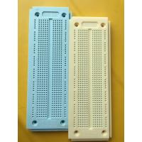Wholesale 840 Tie-points Arduino DIY Green Round Hole Breadboard Solderless Without Color Printed from china suppliers