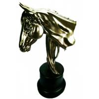 Wholesale Copper Imitation Resin Horse head sculpture Portrait finished in Anime Make in China from china suppliers