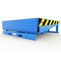 Wholesale Steel Structure Hydraulic Dock Ramp , Loading Dock Equipment With 300mm Downwards from china suppliers