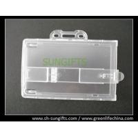Wholesale Locking plastic proximity card holder, ID business holder from china suppliers