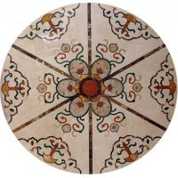 Wholesale Marble Water Jet Mosaic Tile Medallion Patterns , Inlay Mosaic Tabletop Patterns from china suppliers