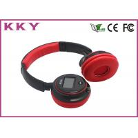 Wholesale Self Adjusting Wireless Bluetooth Over The Ear Headphones 2.402~2.480GHz Frequency from china suppliers