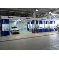 Wholesale 6.3M Rear Side Draft LED lights Paint Prep Station Spray Booth For BMW Workshop from china suppliers