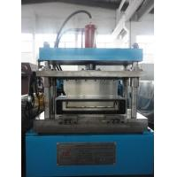 Wholesale 5 Tons Steel Frame Roll Forming Machine , Sheet Metal Rolling Machine Manual Decoiler 15KW from china suppliers