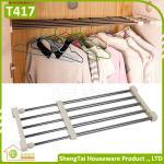 Free Installation Wholesale Home Wardrobe Use Extendable Storage Shelf