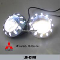 Wholesale Mitsubishi Outlander car front fog LED daytime driving lights DRL autobody parts from china suppliers