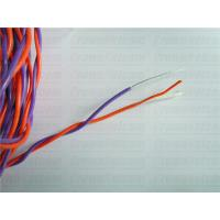 Buy cheap Cabinet Cables Purple/Orange Telephone Cable 0.65MM Tined copper PVC +Nylon jacket Twisted from wholesalers
