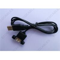 Wholesale Black UL2725 A/M To A/F USB Extension Cable For Signal 1000MM Length from china suppliers