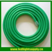Wholesale 24V 14x26mm high brightness green colored jacket 164' spool best led neon flex price from china suppliers